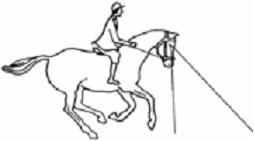 how to draw a person riding a horse easy